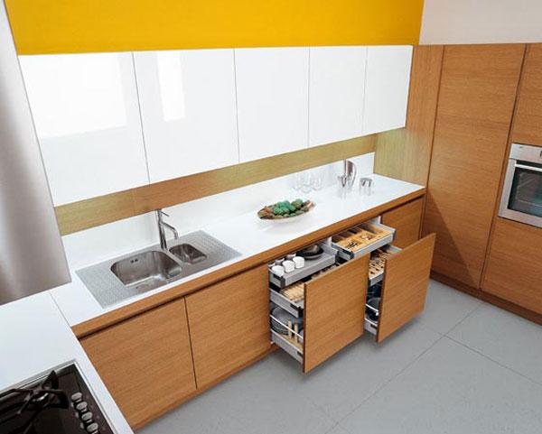 tags contemporary kitchen kitchen design - Kitchen Design Sink